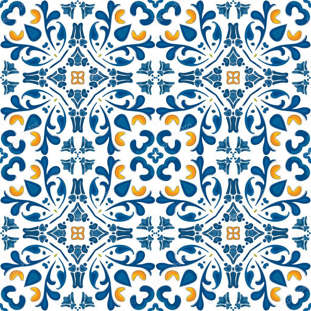 Azulejos Portugueses Vetor De Stock 169 Nahhan 31776885