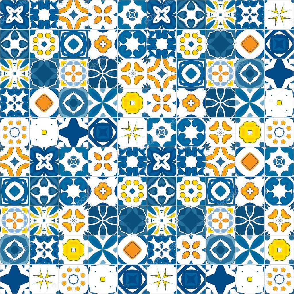 Azulejos portugueses vetor de stock nahhan 35755111 - Azulejos portugueses comprar ...