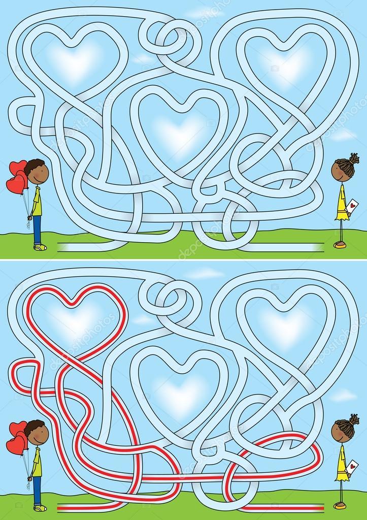 лабиринты любви постер отличие классической, нее