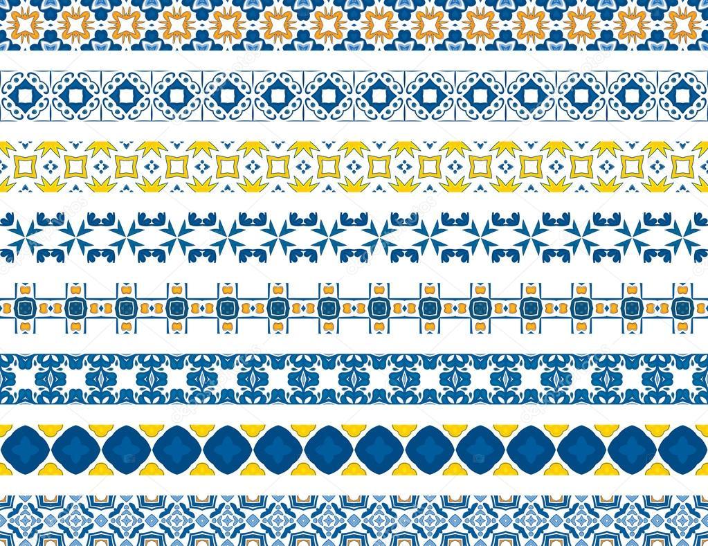 Portuguese borders — Stock Vector © nahhan #43108187