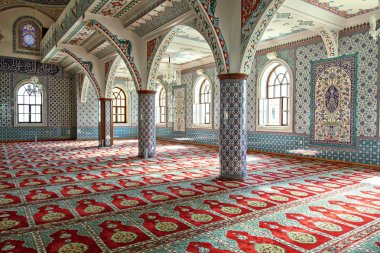 Inside Manavgat mosque