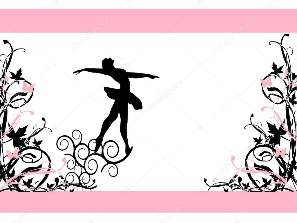 Tarjetas De Invitación De La Escuela De Ballet Foto De
