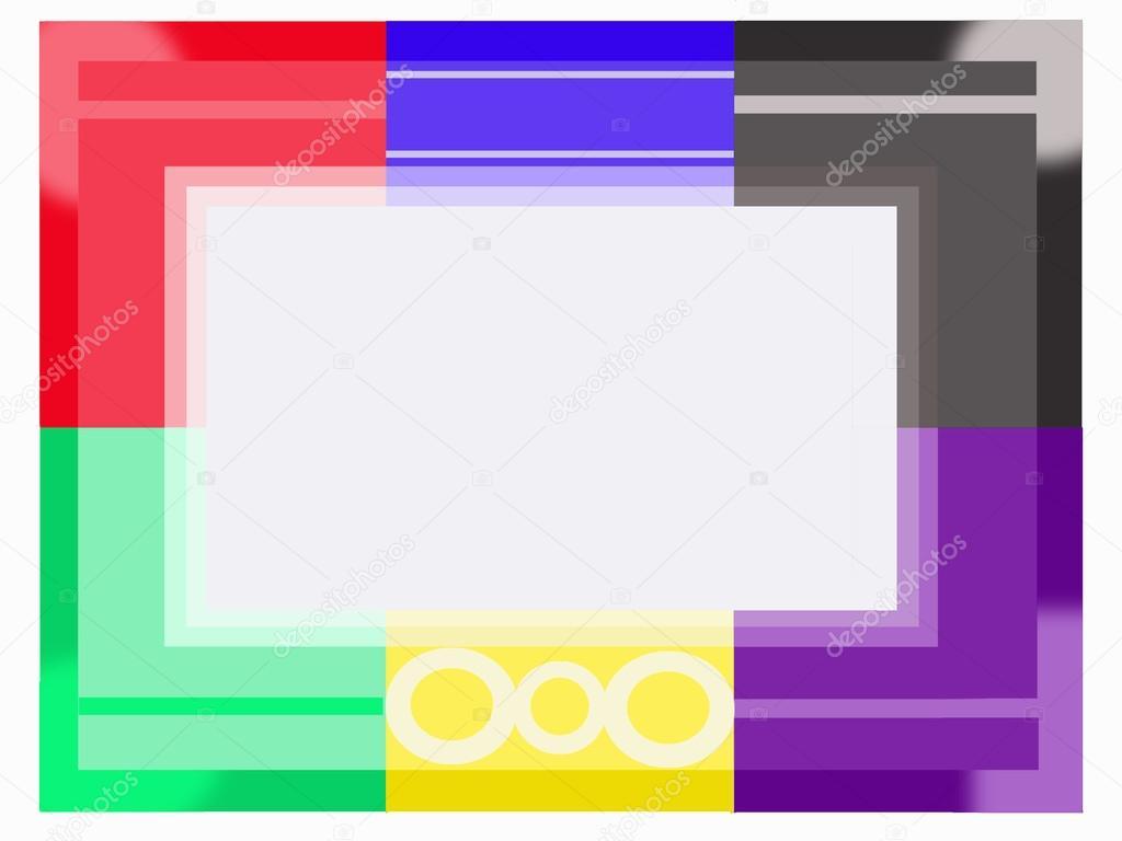 marco de color moderna — Fotos de Stock © #20988343