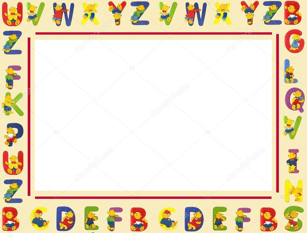 Alphabet frame stock photo c gortan 21668263 for Alphabet photo letters