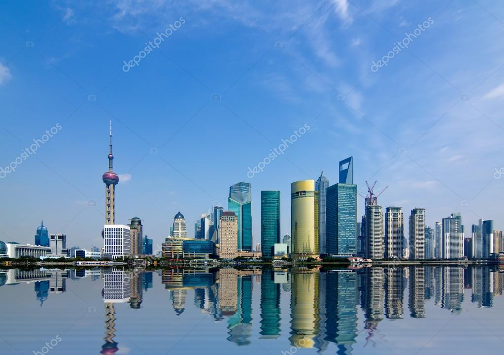 Фотообои Shanghai