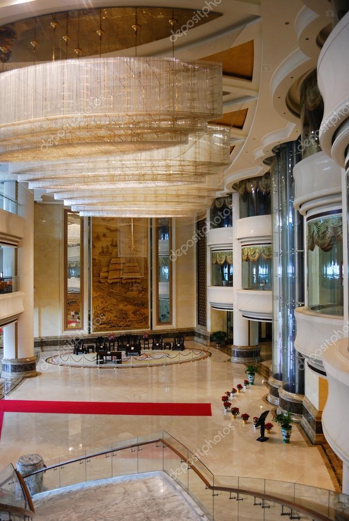 Luxe hotel lobby kamer interieur stockfoto liufuyu for Kamer interieur
