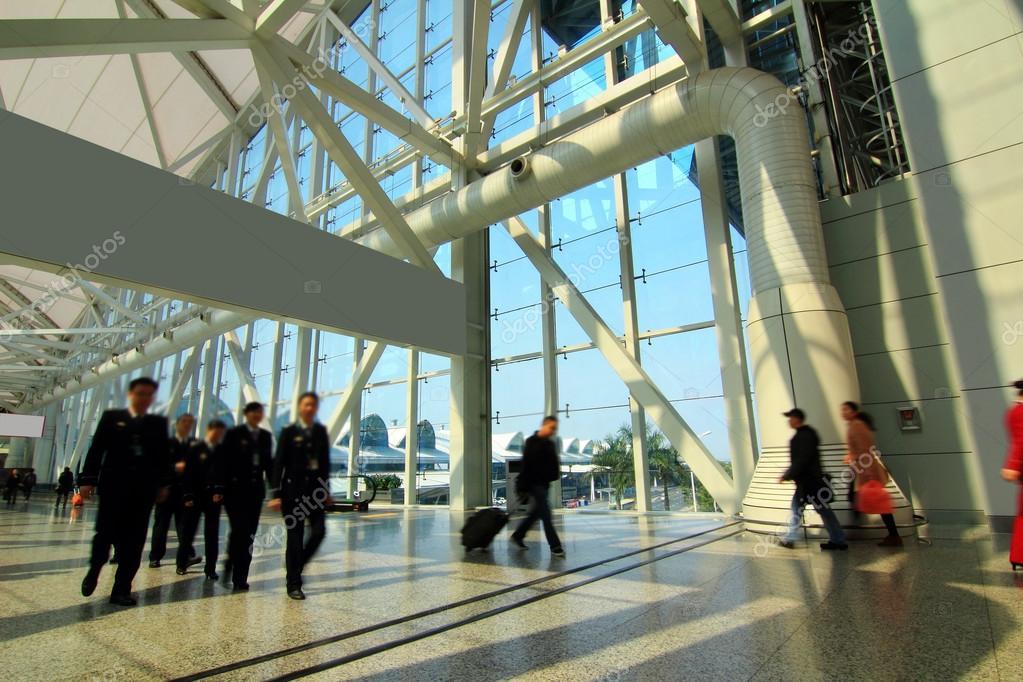 Aeroporto di guangzhou u foto stock liufuyu