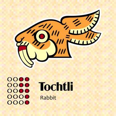Aztec symbol Tochtli