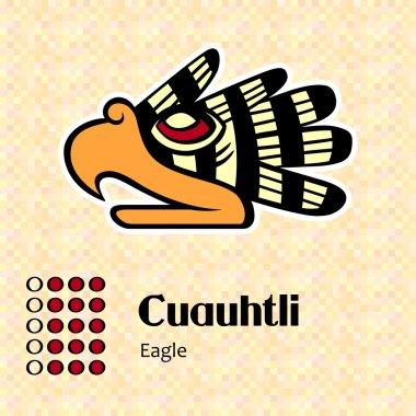 Aztec symbol Cuauhtli