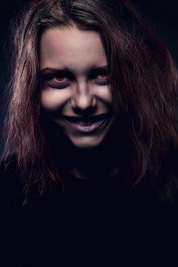 Girl possesst by a demon