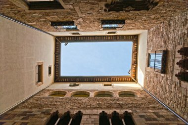 Buildings of Museo Picasso, Barcelona, Catalonia, Spain