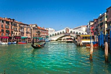 Venice, View from Rialto Bridge.