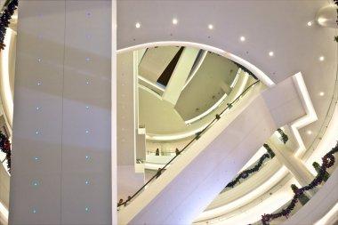 Luxury shopping mall.