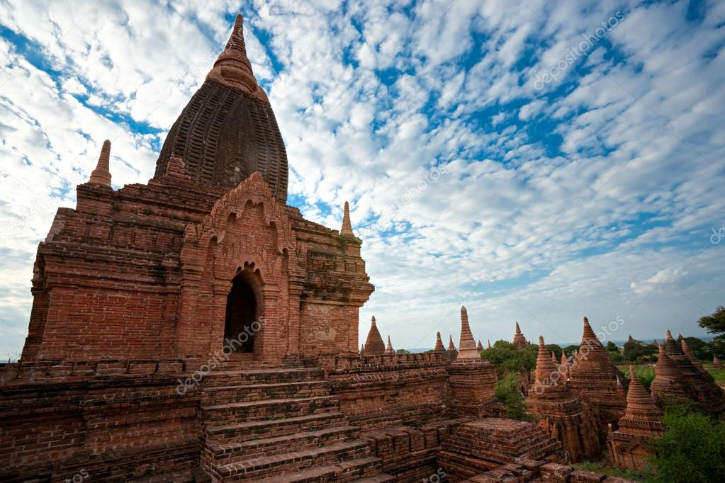 Temples of Bagan Myanmar.