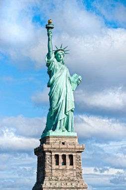 American symbol - Statue of Liberty. New York, USA