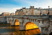 Pont neuf, ile de la cite, Paříž - Francie