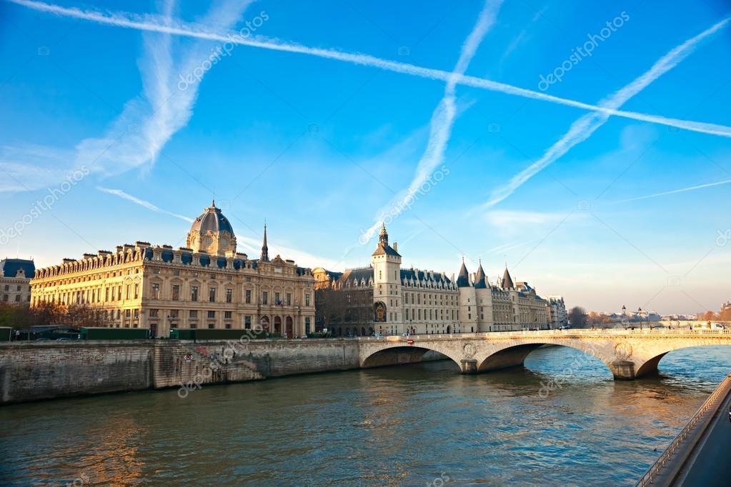 Palais de Justice, Ile de la Cite, Paris - France