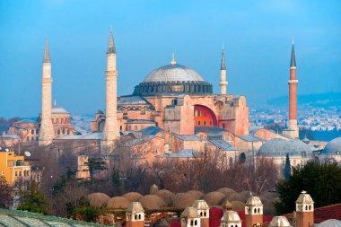 aya Ayasofya Camii, istanbul, Türkiye.