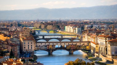 Panoramic view of Florence.