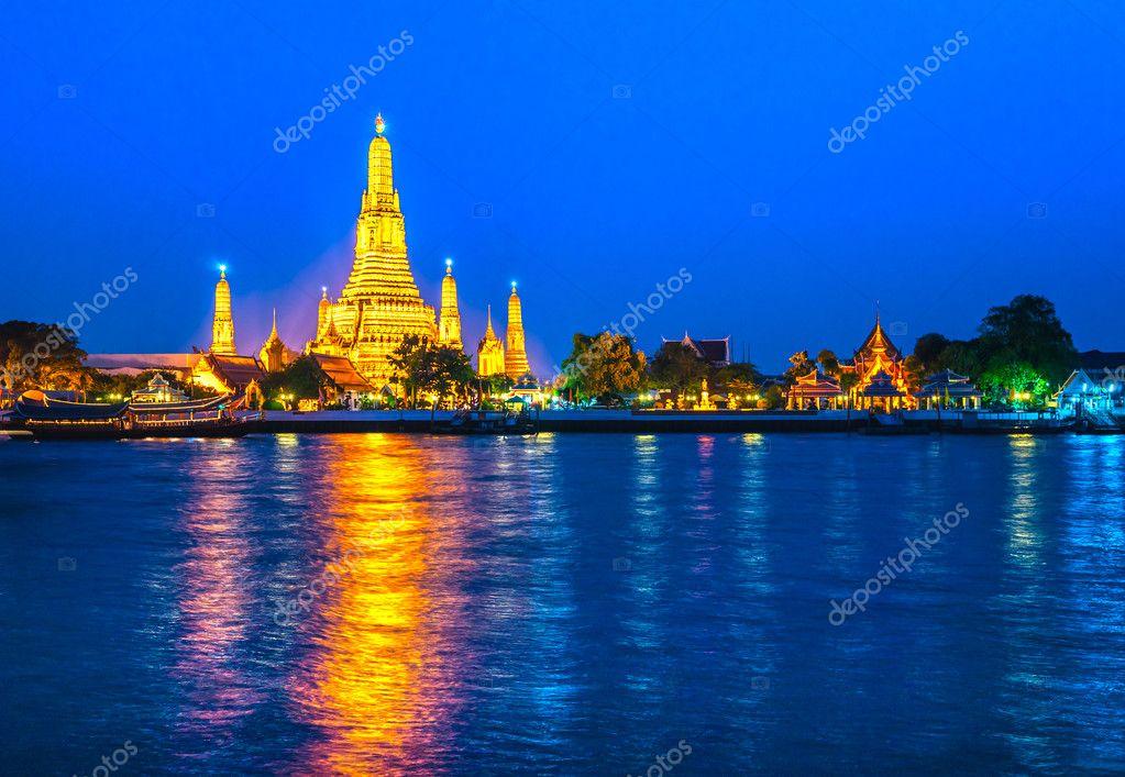 War Arun, Bangkok, Thailandia.