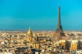 Fotografie View on Eiffel Tower, Paris, France