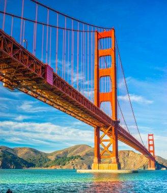 Golden Gate, San Francisco, California, USA. stock vector