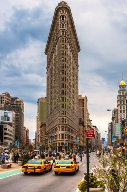 Flat Iron building , New York City.