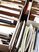 obchodní soubory ve složkách a boxy