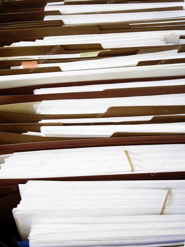 Geschaftsdateien In Kisten Und Ordnern Stockfoto C Eric1513 38929189