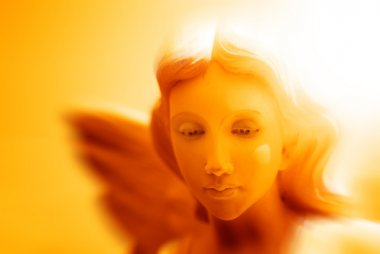 Angel Statue with Wings for Peace