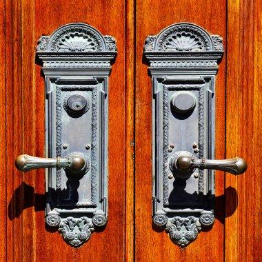 Old Wooden Door Handles