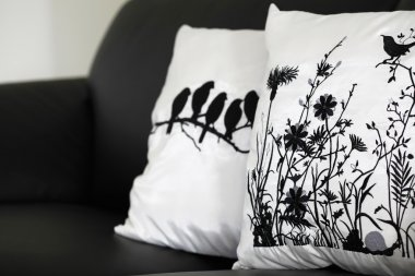 Pillows on the couch
