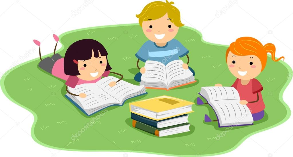 Resultado de imagem para crianças lendo