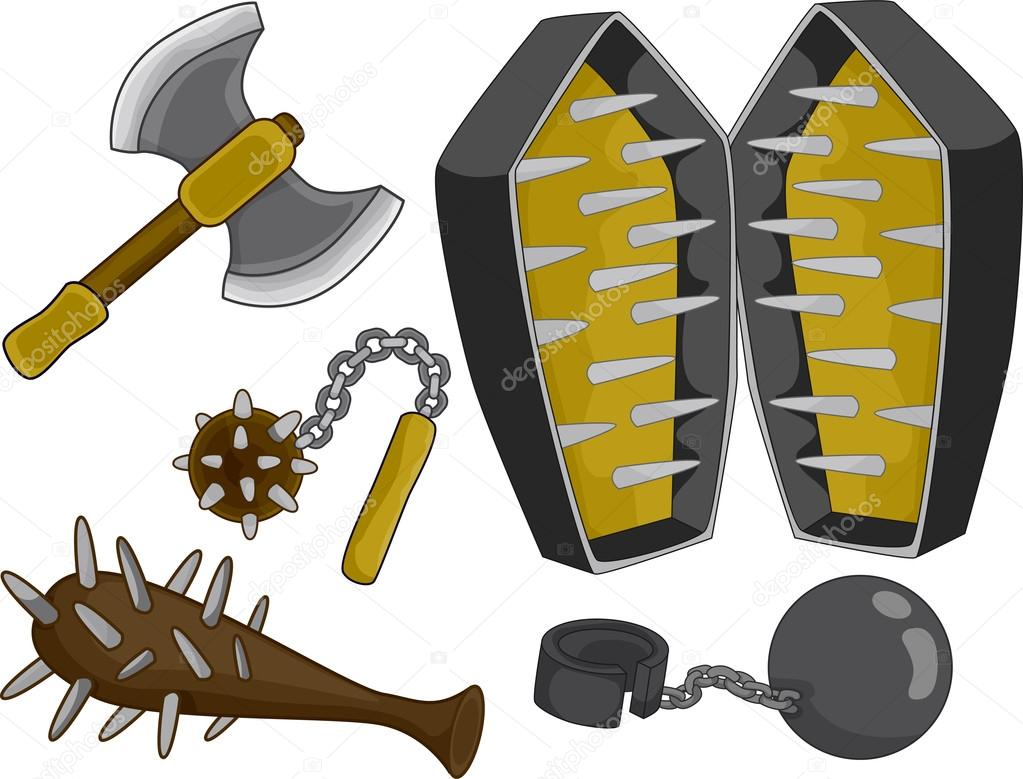 Medieval torture devices stock photo lenmdp 19415301 - Clipart tortue ...