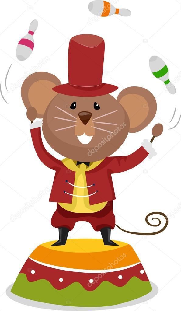 Jongleur de souris de cirque photographie lenmdp 20980187 - Image jongleur cirque ...