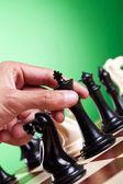 Fotografie člověk pohybující se postava šachy