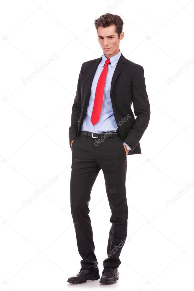 Hombre De Negocios Serio Moda Stockfoto Feedough 13684362