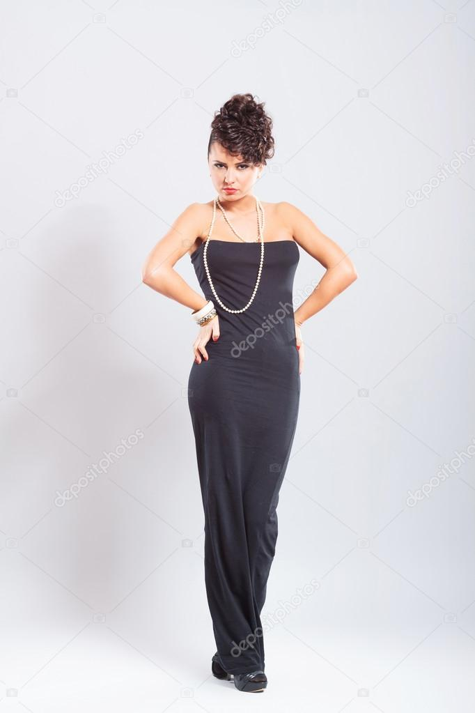 31e7b46a1aaf5a Femme De Poses Sexy Robe En UpGqVSzM