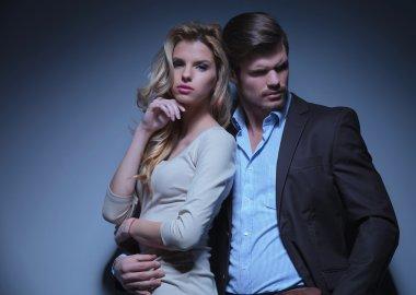 Stylish Man and Luxurious Woman