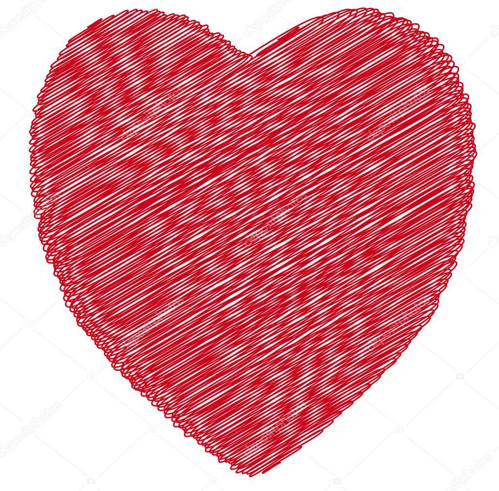 Srdce Kresba Stock Vektor C Noche0 26508659
