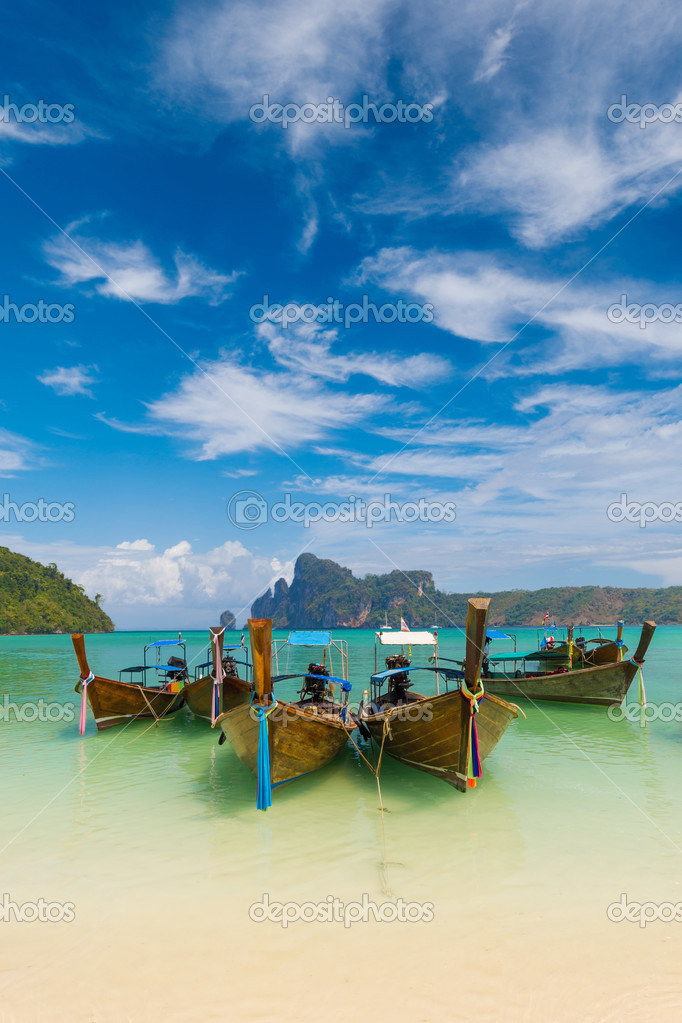 Paradise beach of Koh Phi Phi