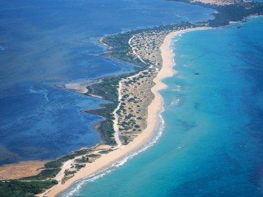 Chalikounas sandy beach in COrfu Greece