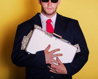 Rich business man