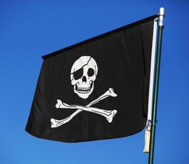 Flag of a pirate