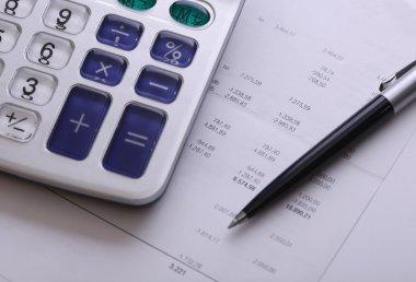 Calculator & bill