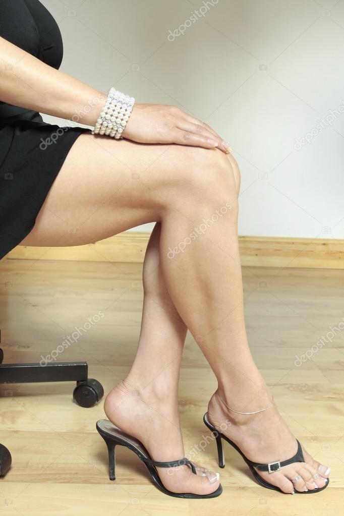Strumpfgürtel High Heels