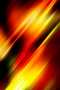 Abstract background in red, yellow and black