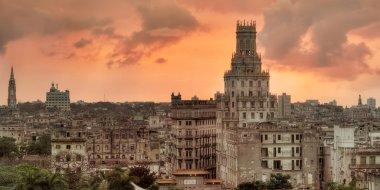 Sunset over Havana