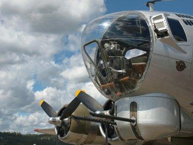 World War 2 Era B17 Bomber