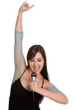 Pretty Karaoke Girl